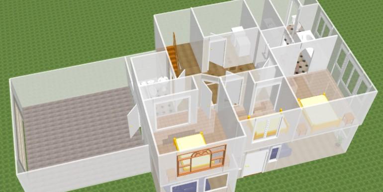 3D flooor plan 4